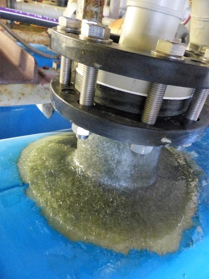 Mise en place d'un piquage SVR sur colonne d'eau