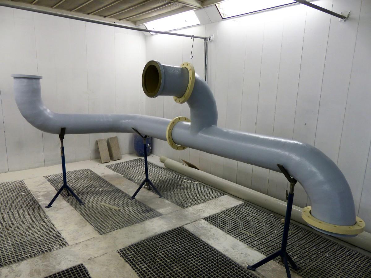 Confection d'une tuyauterie DN250 pour refoulement pompe